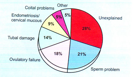 Causes of infertility* *Not